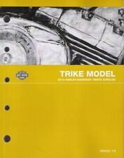 2013 Harley Trike FLHTCUTG Tri Glide Parts Part Manual Catalog Book New 99602-13