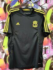 Liverpool FC Football Shirt Soccer Jersey Training Top Adidas 2010 Mens Size M