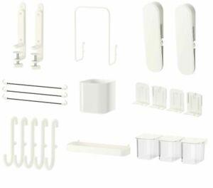 IKEA SKADIS Home Bath Accessories Wall & Storage Organizers Shelf Pegboards Hook