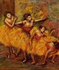 Signe Métallique quatre danseurs également connu comme quatre danseuses circa 1903 PC A4 12x8 alu