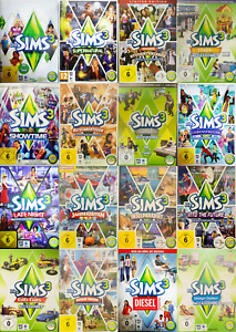 Die Sims 3 - Auswahl aus Hauptspiel und Erweiterungen - PC ⚡⚡ BLITZVERSAND ⚡⚡