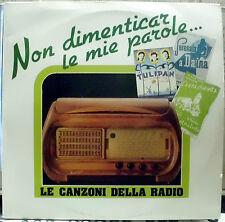 AA.VV. LE CANZONI DELLA RADIO DOPPIO LP GATEFOLD FIVE 1990