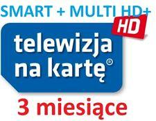 TnK, NC+, SMART+ MULTI HD+, 3M,Telewizja na karte, Aufladung, Doladowanie, TVN