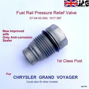 Chrysler Grand Voyager 2007 Fuel Rail Pressure Relief Limiter Valve Sensor