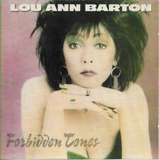 Lou Ann Barton CD Forbidden Tones rare OOP