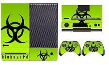 Biohazard 253 Vinyl Skin Sticker for Xbox One & Kinect & 2 controller skins