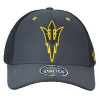 NCAA Zephyr Arizona Sun Devils Black Fitted Stretch Large L Men Adults Hat Cap