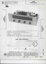 1961 PHOTOFACT Fisher FM-50 FM Tuner Receiver Radio Manual #1759