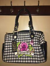 betseyville handbag Black Checked