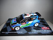 FORD FIESTA RS WRC RALLY MONTE CARLO 2012 SOLBERG EAGLEMOSS IXO 1:43