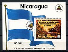 Nicaragua 1980 SG#MS2242 Revolution Anniv MNH M/S Cat £6.25 #A50418