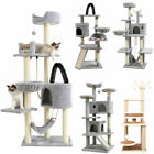 """27""""/47""""/55""""/60""""/63"""" X-Large Cat Tree Play House Tower Condo Scratch Post Climb"""
