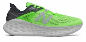 New Balance Men's Fresh Foam More v2 Shoes Green with Grey & Blue