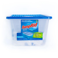 DampRid 5 Lb Fragrance Free Refillable Moisture Absorber Odor Eliminator