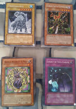 yu gi oh lotto misto di carte (lista completa dentro) + mazzo da torneo burn