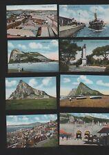Gibraltar Algeciras Steamer Market Rock View Town Vintage Postcards  RN.210