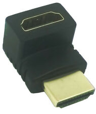 90 degree left angle HDMI adapter