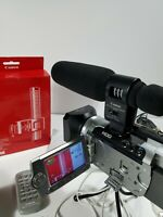 Canon VIXIA HG10 Camcorder, video maker bundle - YouTuber's choice/max storage!