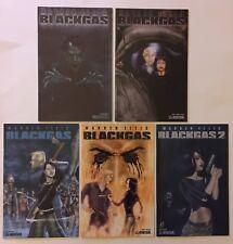 Black Gas #1-3 + #1 Terror Variant, Black Gas 2 #3 (Avatar, 2006-07) 5 Issues VF