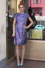 Kleid dress 60er Abendkleid Ausgehkleid 50er True VINTAGE 50s shiny glänzend 60s
