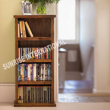 Contemporary Wooden CD / DVD Open Rack !