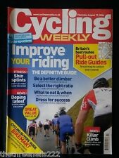 CYCLING WEEKLY - IMPROVE YOUR RIDING - AUG 17 2006
