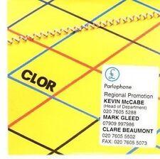 (CC531) Clor, Clor debut album - 2005 DJ CD