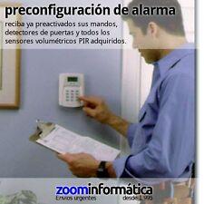 SERVICIO PREINSTALACION INSTALACION ALARMAS GSM ALARMA KIT PACK CONFIGURACION