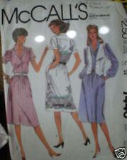 Vintage McCalls Pattern Dress Vest 7440 10 SEWING SEW