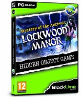 Mystery of the Ancients: Lockwood Manor (PC DVD) NEW SEALED hidden object game