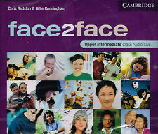 CAMBRIDGE Face2face Upper-Intermediate Class Audio CDs | Redston Cunningham @NEW