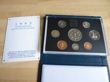 1993 Royal Mint standard proof set