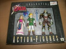 Legend of Zelda Ocarina of Time N64 Collectible Action Figure Set - Brand New