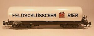 Vintage Marklin HO 4632 Feldschlosschen Beer Tank Car   Feldschlösschen Bier