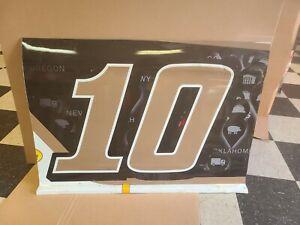 Aric Almirola NASCAR Race Used Sheet Metal Ford Mustang Stewart Haas Door #10