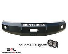 Iron Cross 20-415-92 HD Black Front Winch HD Bumper w/ LEDs for 1992-1996 F-150