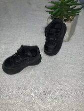 Nike Toddler's Air Force 1 (TD) Shoes AUTHENTIC Black 314194-009