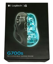 NUOVO Logitech G700s Cordless Ricaricabile USB Laser Gaming Mouse per PC e NOTEBOOK