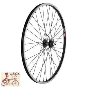 """WHEEL MASTER WEI 519 6-BOLT DISC BOLTED 29""""  ALLOY BLACK FRONT WHEEL"""