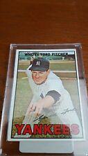 1967 Topps #5 Whitey Ford UER 1953 listed as 1933 in stats on back -