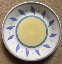 "WILLIAMS~SONOMA TOURNESOL 14"" ROUND CHOP PLATE/PLATTER"