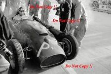 Juan-Manuel Fangio Lancia Ferrari D50 Grand Prix de Mónaco 1956 fotografía 5