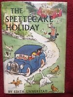 The Spettecake Holiday By Unnerstad Vintage Hardcover Book