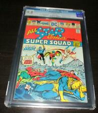 ALL-STAR COMICS #58 1976 1ST POWER GIRL CGC 9.8 WHITE PAGES HIGHEST GRADED!!!