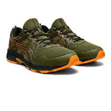 Asics Hombre Gel-Venture 8 Sendero Correr Zapatos Zapatillas Verde Deporte