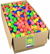 Click N' Play Value Pack 1000 BPA Free Crush Proof Plastic Ball 6 Bright Colors