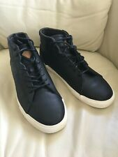New Reef Ridge Mid Lux Black Leather Shoes 9