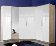 Eckkleiderschrank Eckschrank 95x95 + 2x Kleiderschrank 90 cm Höhe 200 Breite 210