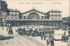 FRANCE Paris East Railway station bus automobile animated PC 1910s