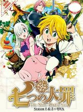 ANIME UK THE SEVEN DEADLY SINS Season 1 + 2  + OVA DVD (Dual Audio) (BK0151)